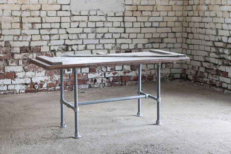 Ruokapöydän runko  - pipe table - putkihuonekalu - putkipöytä - Domus Classica verkkokauppa