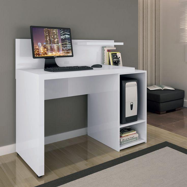 Escrivaninha para computador Kappesberg – Branco. - Mesas para Computador e Escrivaninhas no CasasBahia.com.br