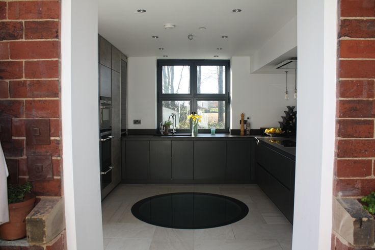 The Water Tower featured on George Clarke's Amazing Spaces program. Kitchen designed and installed by ourselves, Arlington Interiors - Leeds