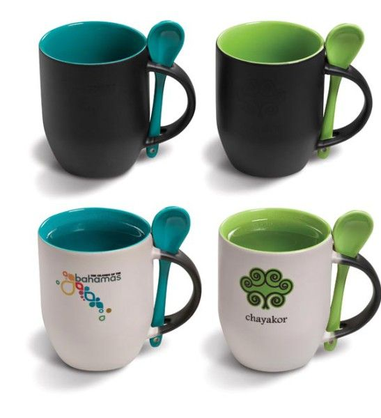 Color Changing Coffee Mug - Add hot water and the mug colour changes #coffee #coffeemug #mugs #coffeemugs #creative #coolproducts #kitchen #branding #printedmugs