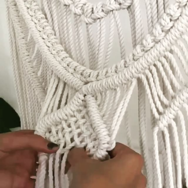 Time flies when you're having fun! A minute of macrame madness - I do love me a good time lapse! This is a bit of insight into the process behind making one of my larger wall hangings minus all of the less interesting bits that don't fit in the video like measuring and cutting rope, unravelling the 3 ply cords, wrapping and packaging! Time lapse makes everything look so easy and effortless, truth be told this one took me 4 days to finish!  Macrame for me is remedial and meditative…