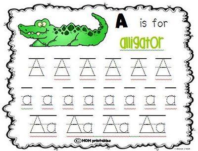 Handwriting practice worksheets: Idea, Kids Preschool Lett, Preschool Kids