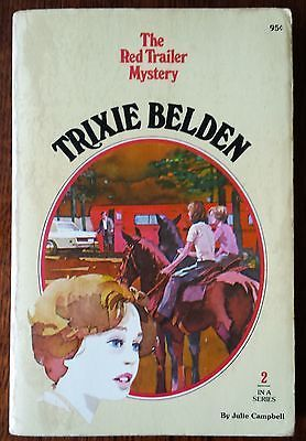 The Red Trailer Mystery Trixie Belden 2 acceptable condition Paperback