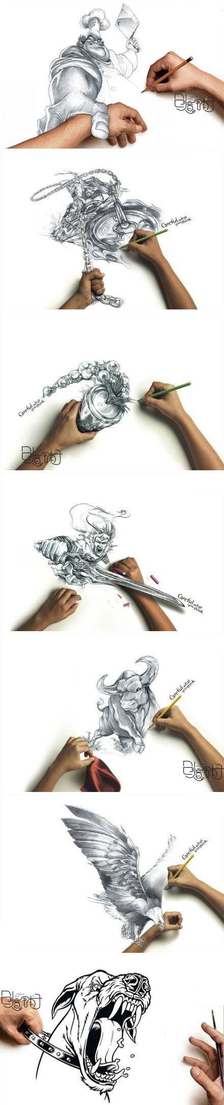 Amazing art! So cool!