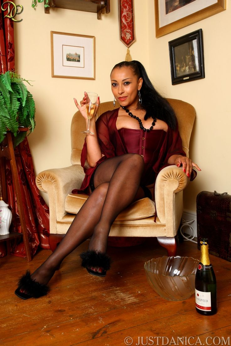 Danica enjoys cold champagne | ♛Danica Collins alias Donna ...