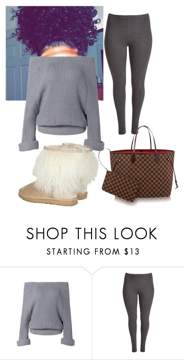 """Untitled #75"" by taylorr-thomas ❤ liked on Polyvore featuring UGG Australia and plus size clothing"