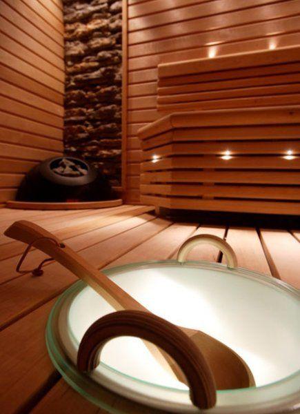 Sauna gadget - lit water pail! frmo Helo - Valaistava löylykiulu