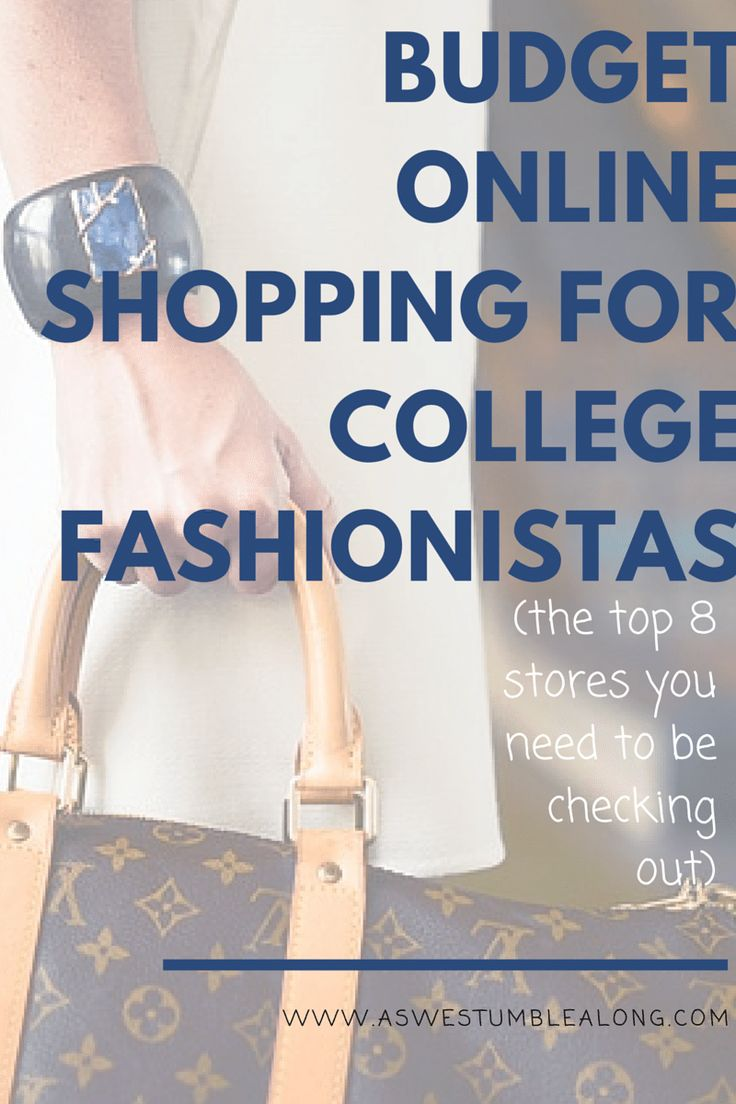 You don't have to sacrifice style when you go to college! Yes we're all on a budget, but with thee stores, you don't have to worry! Cheap online clothing stores, cheap online clothing stores for college students, cheap online shopping for college students,