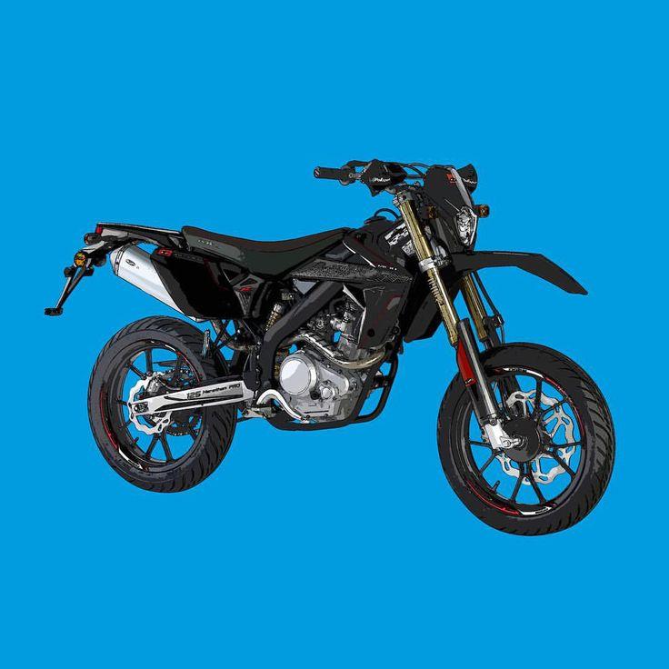 Rieju Marathon 125 Pro  Si te gustan mis trabajos, Sígueme. If you like my artworks, Follow me.  #rieju #marathon #125 #pro #riejumarathon #riejumarathon125 #riejumarathonpro #riejumarathon125pro #alvarodintenmoto #dibujo #diseño #design #draw #moto #motocycle #motorbike #motocicleta #instamoto #marathon125 #125pro #blackseries