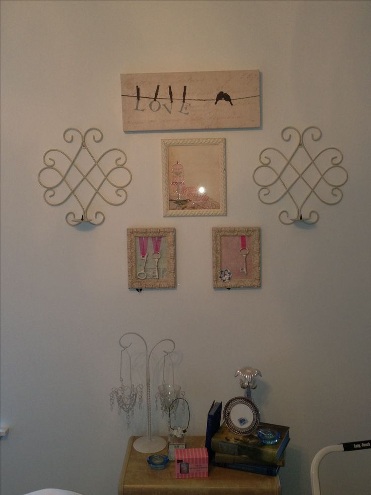 Diy Bedroom Wall Decor Top Sign From Target Sconces From Home Goods