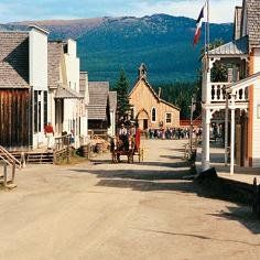 Barkerville, BC - an historic gold rush town