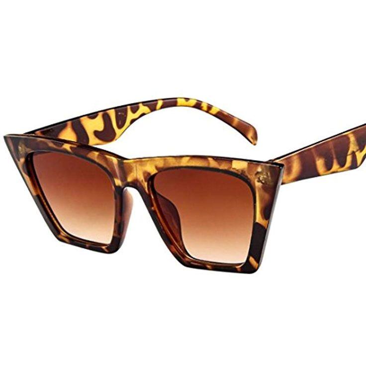URSING Mode Damen Oversized Übergroße Sonnenbril…