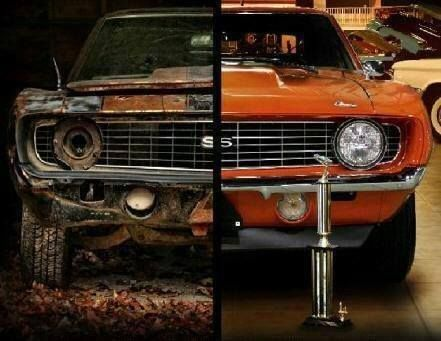 Camaro Before After Custom Cool Cars Pinterest