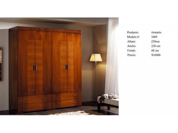 Roperos de madera modernos imagen buscar con google for Roperos de madera para dormitorios
