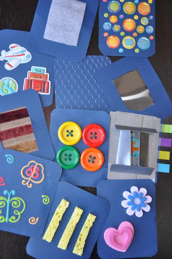 Texture Cards Preschool Eyfs Texture Ideas Homemade
