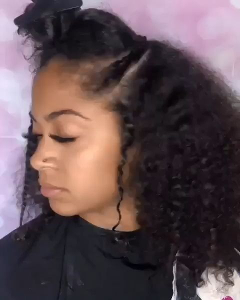 Thriving Hair Special Wand Curl Brazilian Virgin Human Hair 13x6 Lace Front Wigs with Baby Hairs [V61-FRONT6] SKU:V61-FRONT6