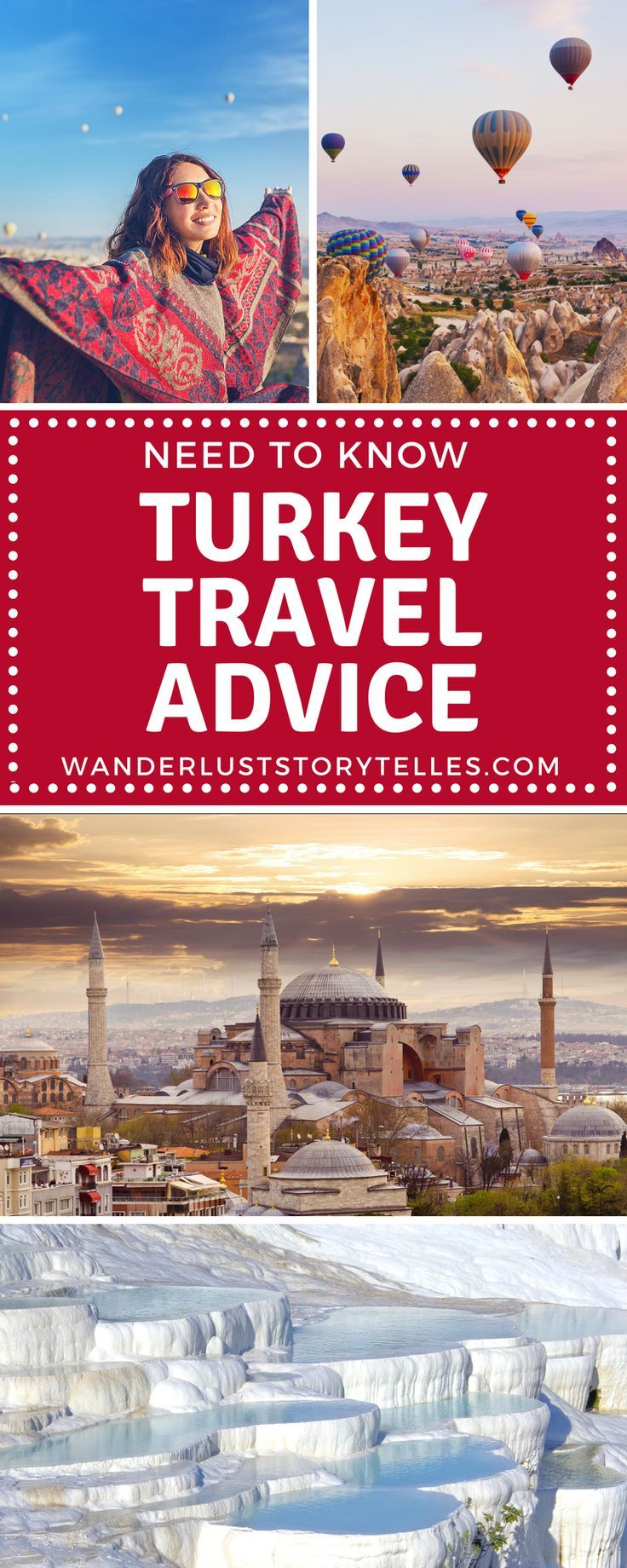 Are you planning your Turkey vacation? Find all the essential Turkey travel advice and tips that you need to know right here in our post. From how to organize your Turkey visa, to language, currency, food as well as the best places to visit in Turkey. #turkey #europe ............................................................. Turkey Holiday | Turkey Trip | Turkey Travel | Turkey Travel Tips