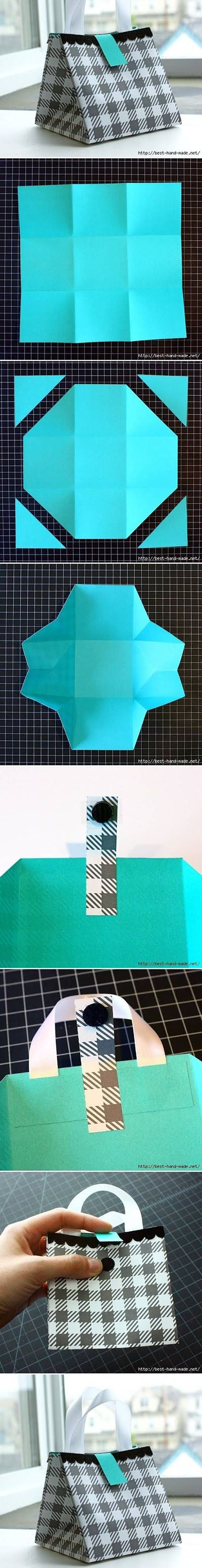DIY Nice Paper Gift Bag | DIY & Crafts Tutorials