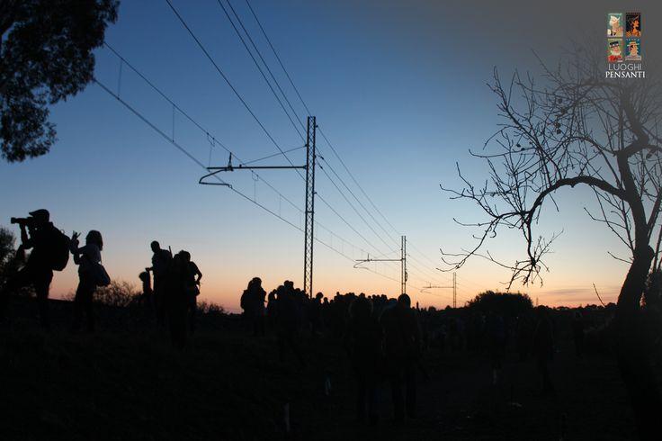 Glare to the south east.. #ferroviekaos #ItaSontheRoad #LuoghiPensanti #Akragas