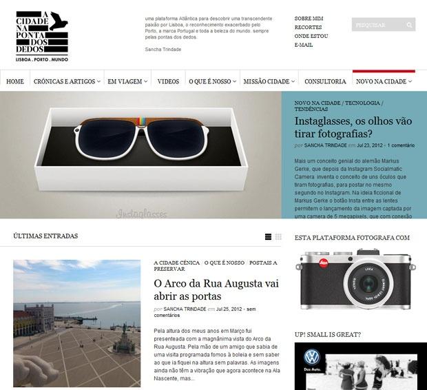 Como cronista em várias publicações como a Vogue, GQ Portugal e Brasil,  Diário Económico 9b071376a6