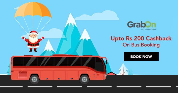 It's #Christmas time and long weekend… book your bus tickets now to earn cashback! #SaveOnGrabOn