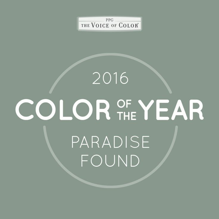 (PPG1135-5) Paradise Found PPG Color of the Year 2016 | KitchAnn Style