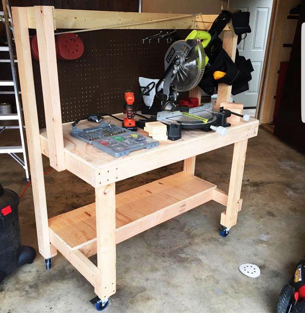 Diy Workbench Upgrades: 544 Best Images About DIY Plans On Pinterest