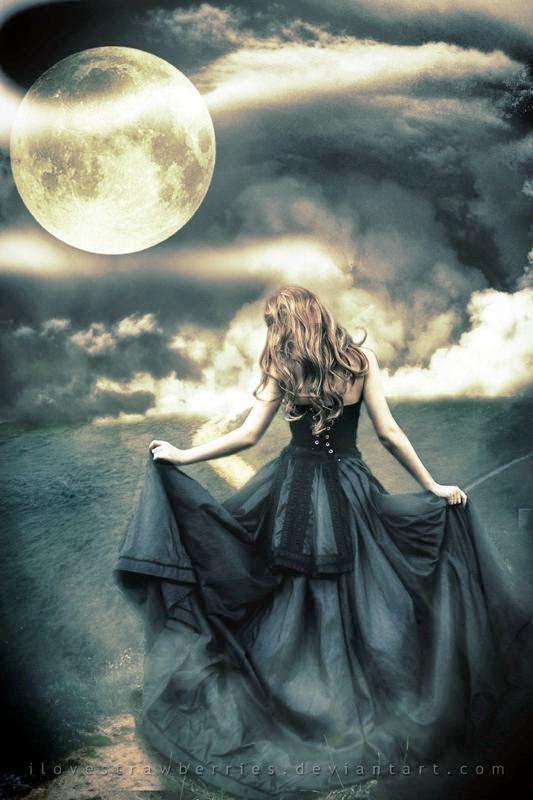 Луна и ведьма фото