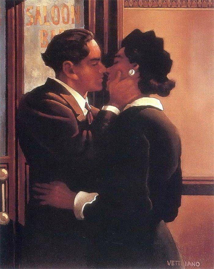 Jack Vettriano Ae Fond Kiss