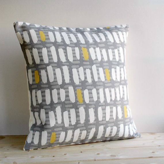 Geometric Pillow Cover 16x16 Inch Modern Cushion by CoupleHome