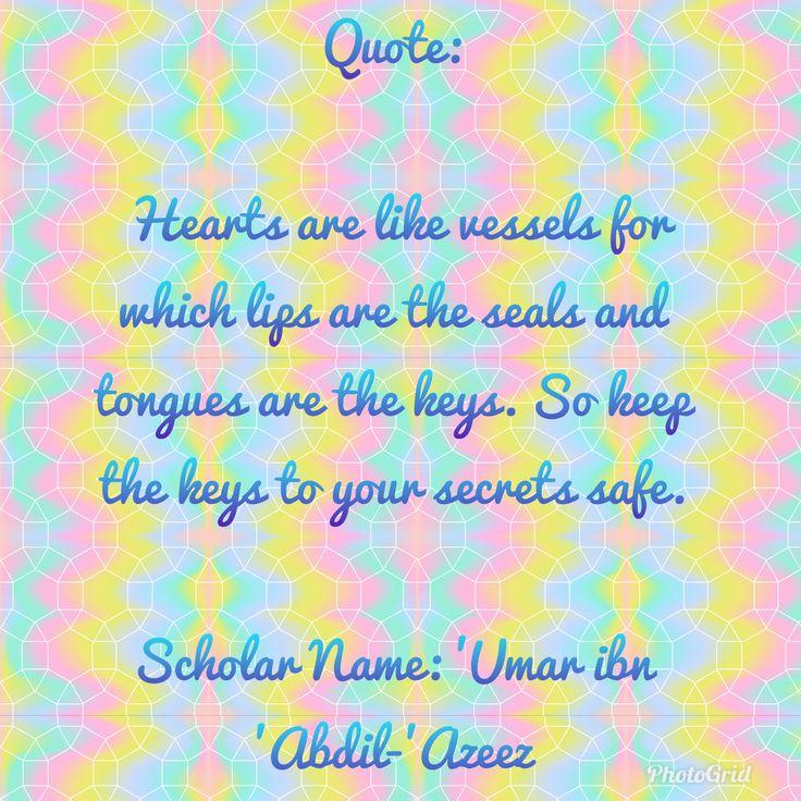 Keys and Secrets