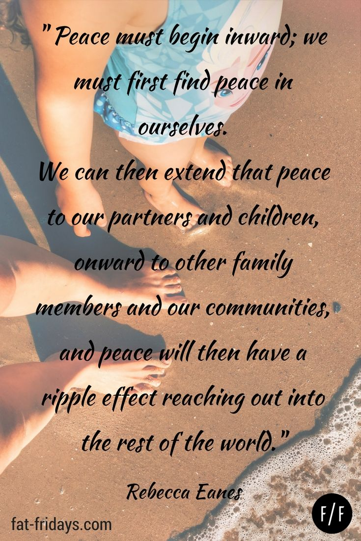Creating a peaceful home quote by Rebecca Eanes - author of Positive Parenting #fatfridays #peacefulhome #parenting #parentingquotes #inspirationalquotes