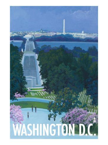 Washington DC, Arlington National Cemetery Print at Art.com