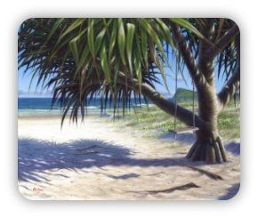 In this FREE painting lesson learn how to paint a beautiful beach landscape with Aussie acrylic artist Mark Waller.