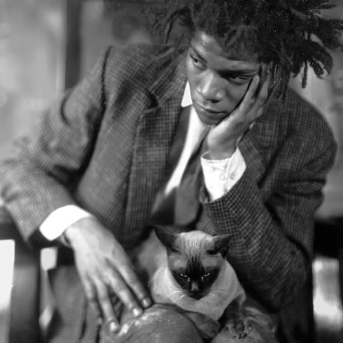 """""""I don't think about art when I'm working. I try to think about life."""" -  Jean-Michel Basquiat"""
