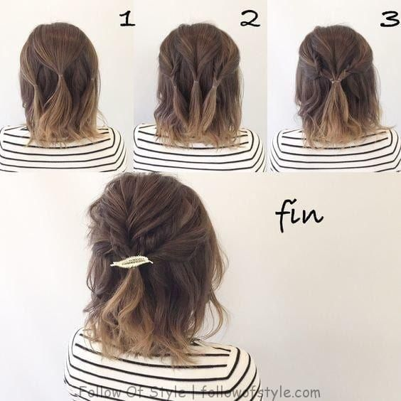 10 simple hairstyles for mixing #simple #styles #mixing | Follow Of Style