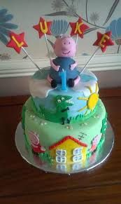 Image result for george pig cake