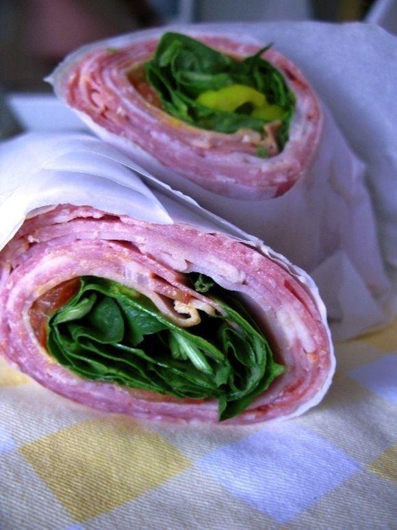 Paleo Italian Sub | 15 No-Bread Sandwiches - will require some modifications, but good core ideas in the 15.