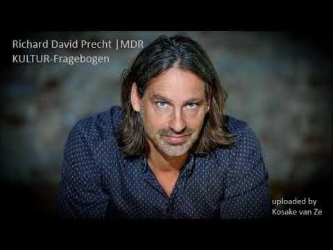 Richard David Precht   MDR KULTUR Fragebogen, April 2017