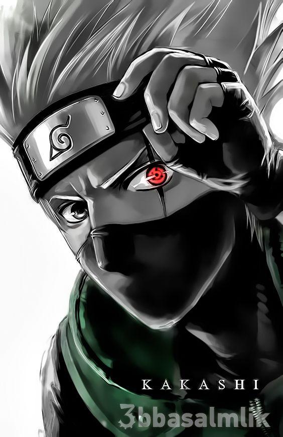 KAKASHI ꧁kakashi꧂ 😎   Anime Dark   Kakashi sharingan, Naruto