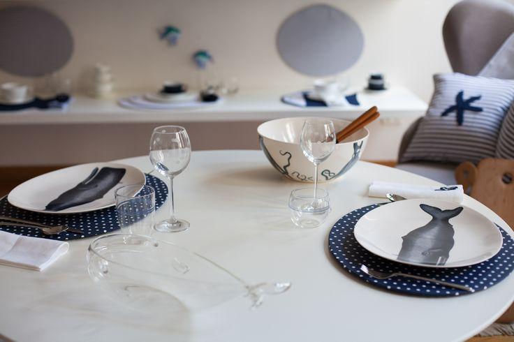 Octopus's Garden: la nuova collezione estiva 2014 di #Centrotavola #Milano. Idee per apparecchiare la tavola d'estate. Summer Table Setting Ideas.