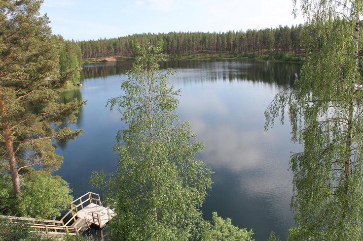 Juhannus Rokualla. Rokua Health & Spa Hotel, Finland.