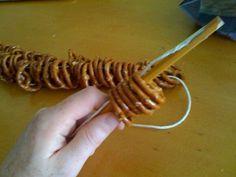 How to make a pretzel necklace                                                                                                                                                     More