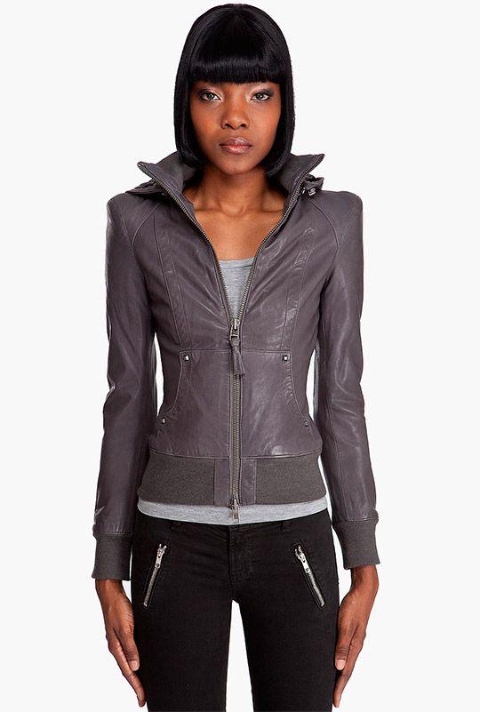 женские кожаные куртки 2017 фото