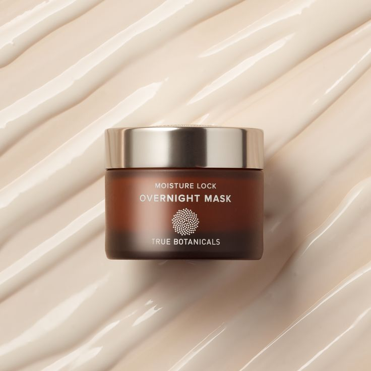 """A nourishing nighttime mask for all skin types with proven results: more hydrated skin. It works while you sleep to banish dryness and dullness. """"Whenever I fell dryness coming on, I slather this on a night on top of my face oil, and honestly, I wake up feelin like a new woman."""" - Olivia Wilde. Free of the pore-clogging waxes found in traditional night creams, this potent problem solver dramatically boosts skin's hydration. The rich yet lightweight formula layers like a dream, sinking in… True Botanicals, Overnight Mask, Beauty Book, Glowy Skin, Natural Face, Face Oil, Skin So Soft, Moisturizer, Perfume Bottles"""