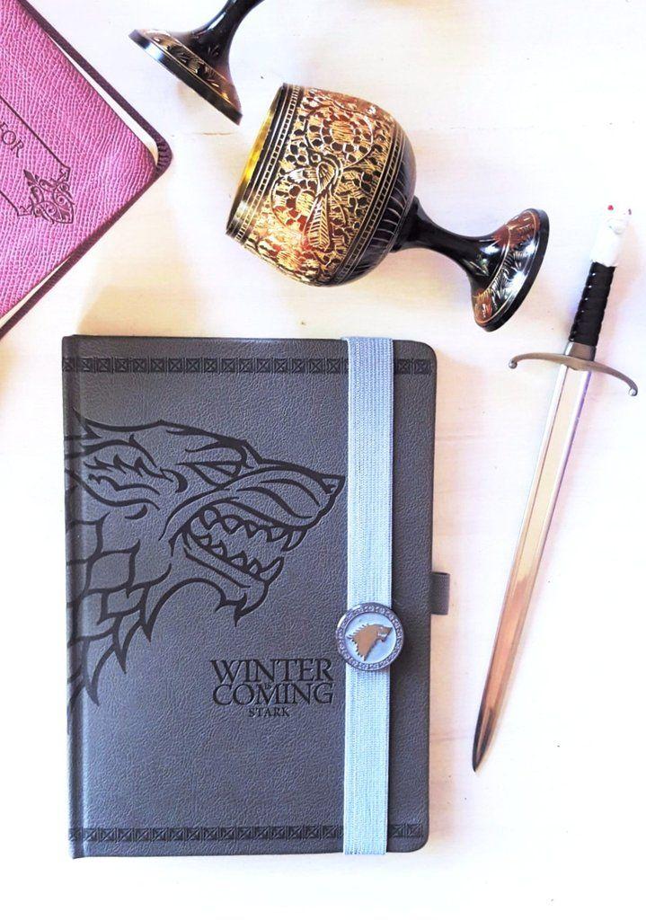 Game of Thrones - Stark Journal #jonsnow #winteriscoming #westeros #tyrionlannister #gameofthrones #danerystargaryen #stark #journal #planner