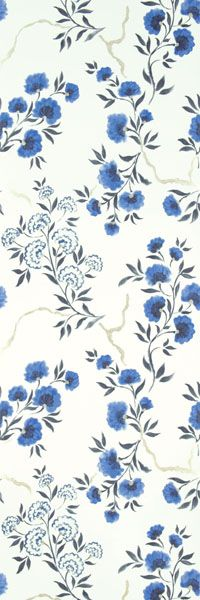 I don't know where I'd use this wallpaper (amrapali collection, jacaranda - delft), but it's lovely. If it were a smaller print, the bathroom. Ooh, maybe the bathroom/laundry room?