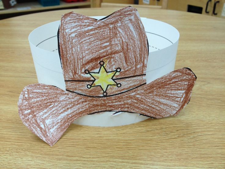 Cowboy Hat! And lots of other kinder ideas