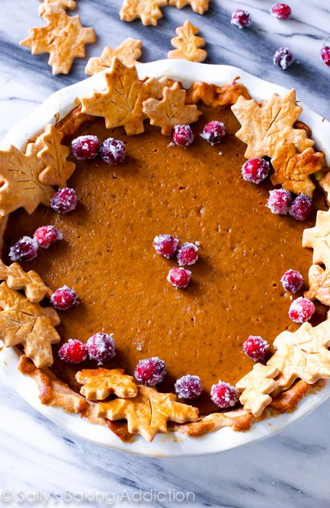 The Great Pumpkin Pie Recipe. This recipe bursts with bright pumpkin flavor and the secret ingredient puts it over the TOP!: