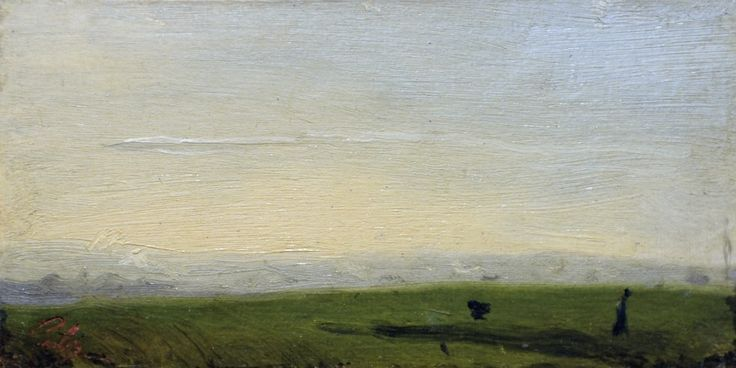 Sunrise near Rouen | Adolphe-Félix Cals [1833]